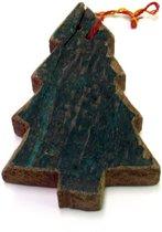Otentic Design Decoratief Ornament Kerstboom - Sloophout