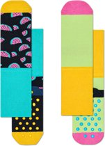 Happy Socks Kids Watermelon & Blocks Antislip - Maat 24-26