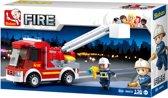 Sluban Brandweer Fire - Kleine Hoogwerker M38-B0632