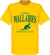 Australië Wallabies Rugby T-shirt - Geel - XL
