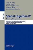 Spatial Cognition IV, Reasoning, Action, Interaction