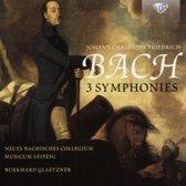 J.C.F. Bach: 3 Symphonies