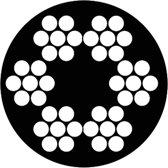 Staaldraadkabel vz 6x7+1 TWK 3
