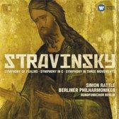 Stravinsky: Symphony Of Psalms/symphony