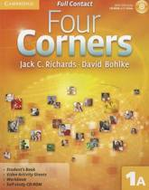 Four Corners Full Contact A Level 1 with Self-Study CD-ROM