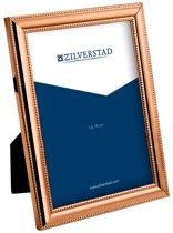 Zilverstad Parel koper     13x18 metaal portret glans    6150401K