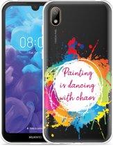 Huawei y5 2019 Hoesje Painting