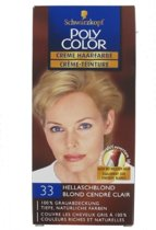 Poly Color Haarverf 33 Hellaschblond