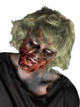 Zombie Make-Up Kit Compleet met latex, nepbloed en schmink