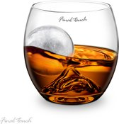 On the Rocks Whiskey Glas Whiskey glas Siliconen ijsmal