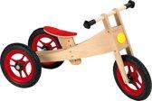 Geuther - Loopfiets 2in1 Bike - Blank/Rood