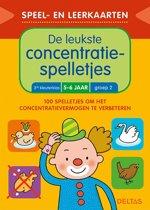 Deltas Speel- en leerkaarten - De leukste concentratiespelletjes (5-6 j.)
