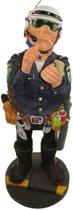 Agent - politie - polyresin – beroepen - hobby - beeldje – Profisti – 11x11x20 cm - relatiegeschenk