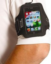 Red-x Iphone 4 Armband Zwart