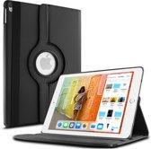 Apple iPad 9.7 (2018) Hoes 360 Graden Draaibare Book Case Zwart Leer van iCall - Multi-Stand en Rotatie Cover