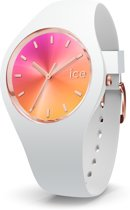 Ice-Watch Sunset IW016049 Horloge - Rubber - Wit - 34 mm