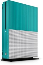 Xbox One S Console Skin Brushed Blauw