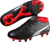 ONE 18.4 FG Jr - Voetbalschoenen Kids - Black/Silver/Red Blast