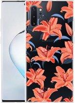 Galaxy Note 10 Plus Hoesje Flowers