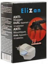 ANTI-MUGGEN Dual aparaat + 10 tabletten