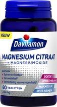 Davitamon Magnesium Citraat 100% – Voedingssupplement - 60 Magnesiumtabletten