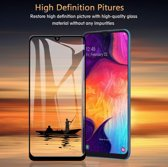 2 Pack Samsung Galaxy A50 Screenprotector Glazen Gehard  Full Cover Volledig Beeld Tempered Glass