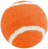 Oranje hondenbal