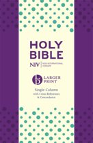 NIV Larger Print Compact Single Column Reference Bible