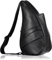 HEALTHY BACK BAG Rugzak - Leather - Black - Small - 5303-BK