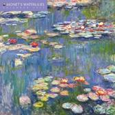 Monet's Waterlilies Mini Wall Calendar 2017
