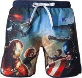 Marvel: Captain America - Zwembroek - XL