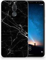 Huawei Mate 10 Lite Uniek TPU Hoesje Marmer Zwart