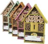 Insectenhotel bijenhuis - vlinderhuis 31x10x48cm