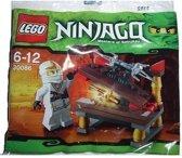 LEGO Ninjago Hidden Sword | Witte Ninja met zwaard - 30086
