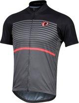 Pearl Izumi  Select Ltd Jersey  Fietsshirt - Maat L  - Mannen - grijs/zwart/roze