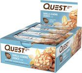 Quest Nutrition Quest Bar - Eiwitreep - 1 doos (12 eiwitrepen) - Vanilla Almond Crunch