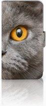 Microsoft Lumia 550 Leuk Hoesje Britse Kat