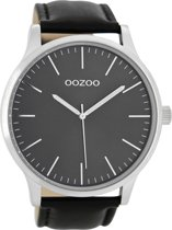 OOZOO Timepieces Zwart Horloge C8539