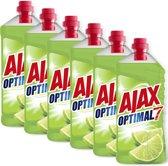 Ajax Optimal7 Limoen allesreiniger 6 x 1.25L