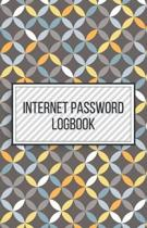 Internet Password Logbook-Small Size Alphabetical Password Notebook Organizer-5.5''x8.5'' 120 pages Book 3: Keep Track of Usernames Passwords Websites-B