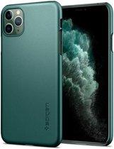 Spigen iPhone 11 Pro Thin Fit Midn Green