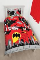 Lego DC Comics Super Heroes - Dekbedovertrek - Eenpersoons - 135 x 200 cm - Multi