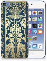 Apple iPod Touch 5 | 6 Uniek TPU Hoesje Golden Flowers