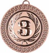 Bronzen medaille nr 3