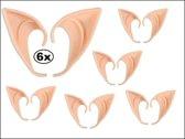 6x Paar Elven oren
