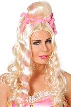 Prinsessen pruik blond