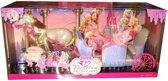 Barbie Dansende Prinsessen koets - Barbiekoets
