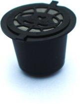 Hervulbare cup voor Koffiecupmachines - zwart