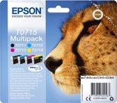 EPSON DuraBrite Ultra inktcartridge zwart en drie kleuren 1-pack RF-AM blister