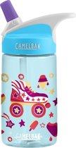 CamelBak Eddy Kids Drinkfles - 400 ml - Blauw (Roller Skates)
